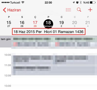 Sihirli elma iphone mac alternatif takvim hicri 6