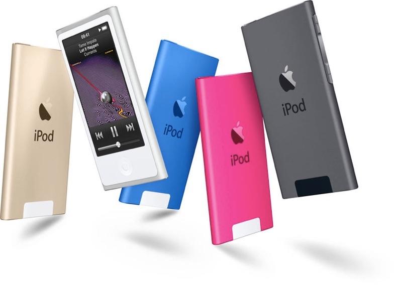 Sihirli elma ipod touch nano shuffle 4