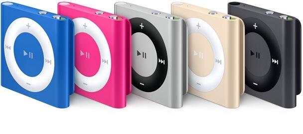 Sihirli elma ipod touch nano shuffle 5