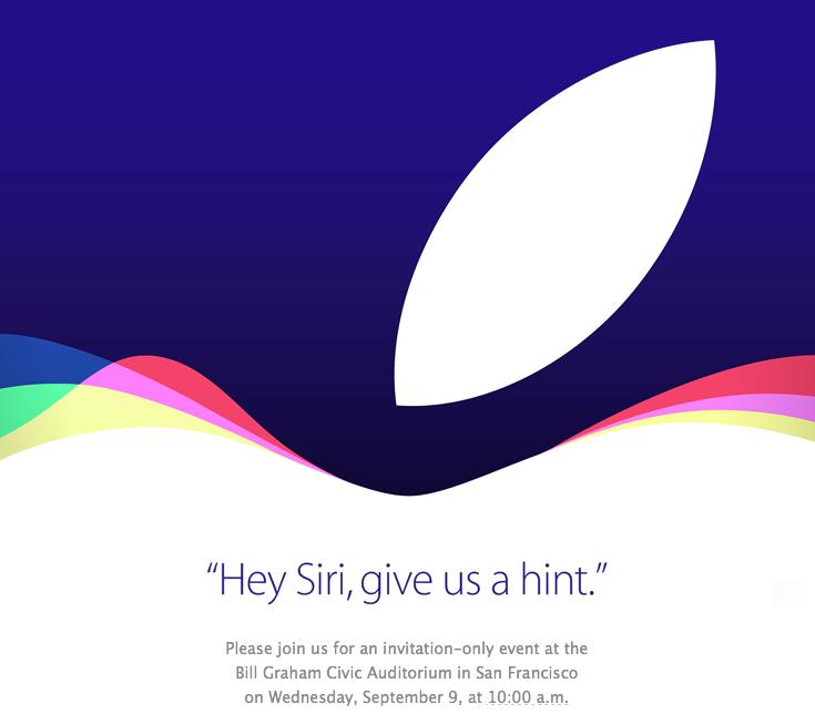 Sihirli elma 9 eylul etkinlik yeni iphone davetiye