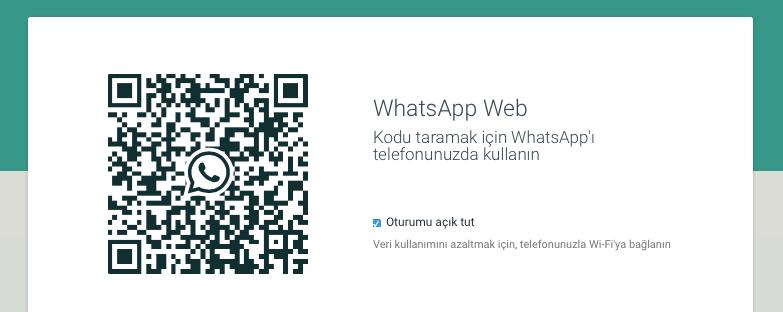 Sihirli elma whatsapp web iphone 1