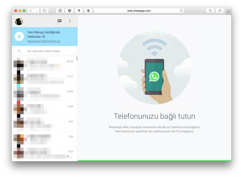 Sihirli elma whatsapp web iphone 6