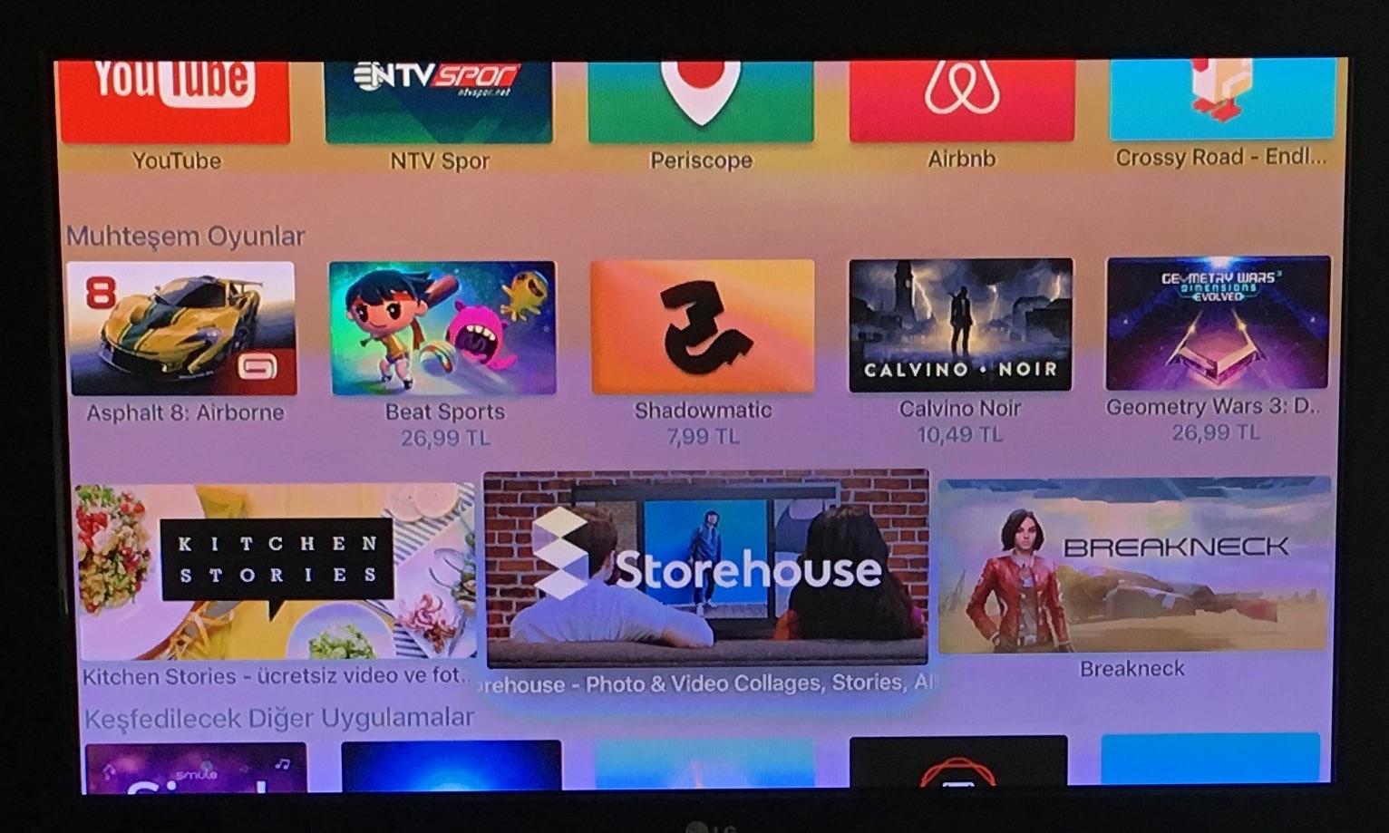 Sihirli elma yeni apple tv 25