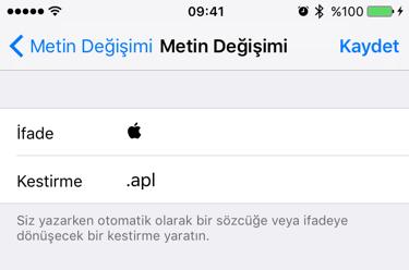 Sihirli elma klavye kestirmeleri 4