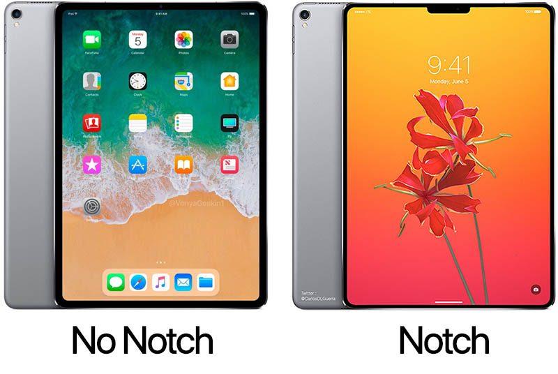 2018 iPad Pro Çentik