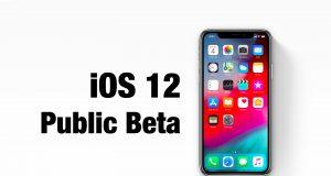 iOS 12 Public Beta