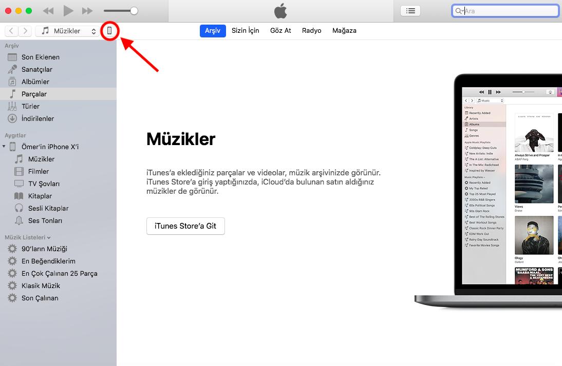 iOS 12 iTunes
