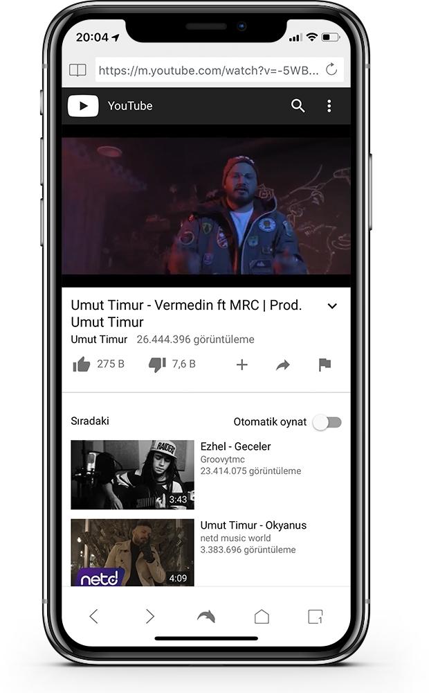 YouTube Arka Planda Çalma