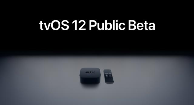 tvOS 12 Public Beta