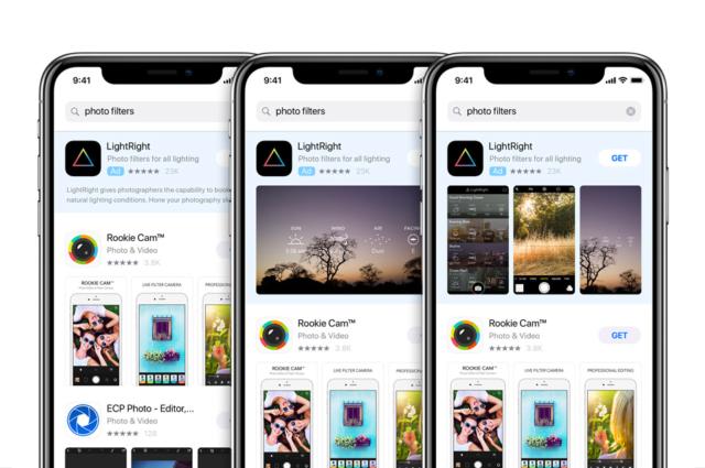 App Store Uygulama Reklamları