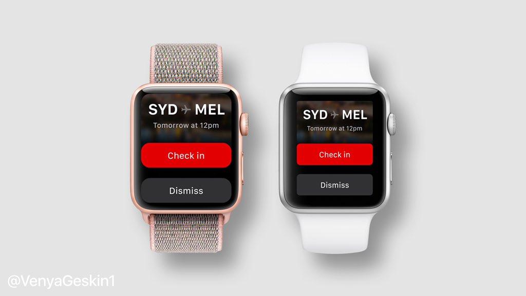 Apple Watch Series 4 Ekran