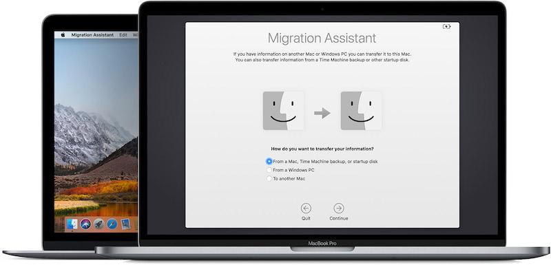 MacBook Pro Migration Assistant