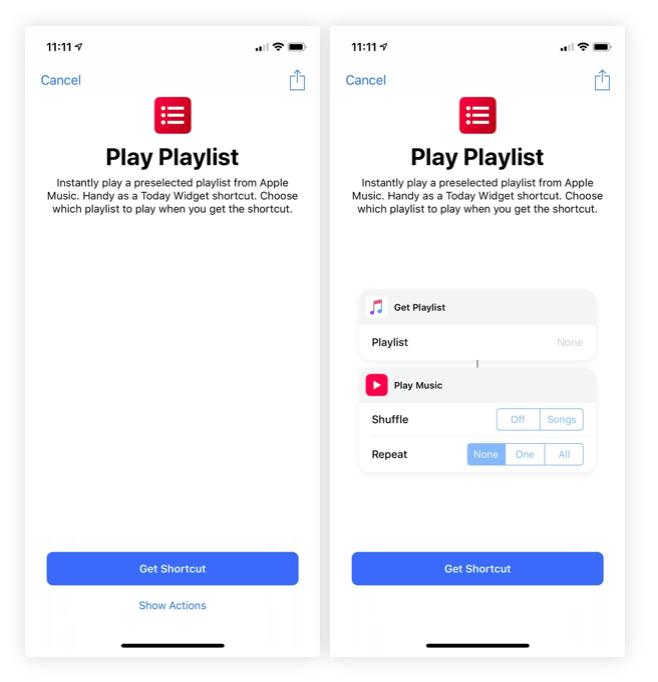 iOS 12 Kısayollar Uygulaması Kısayol Ekleme
