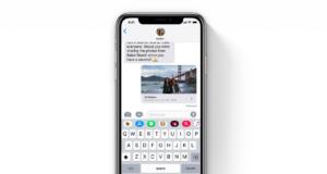 iOS 12 Mesajlar Uygulaması
