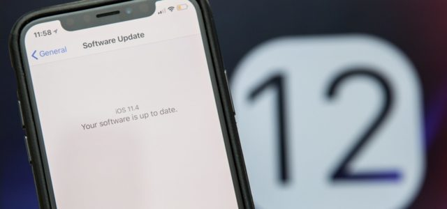 iOS 12 iOS 11.4.1 Nasıl Dönülür