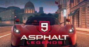 iOS için Asphalt 9 Legend