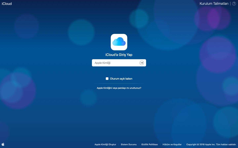 iPhone Rehber Kurtarma iCloud
