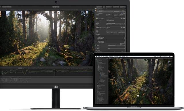 2018 MacBook Pro LG Ultrafine