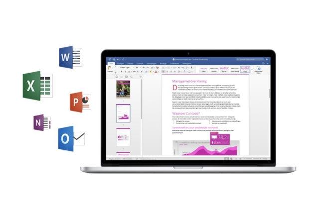 Mac için Microsoft Office