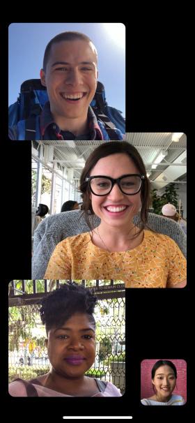 iOS 12 Grup FaceTime