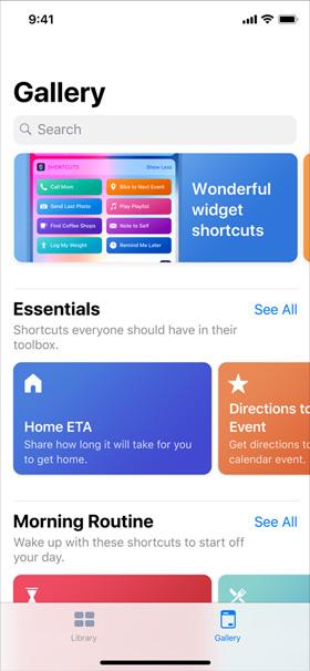 iOS 12 Kısayollar Uygulaması