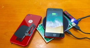 iPhone 7 Kablosuz Şarj Kiti