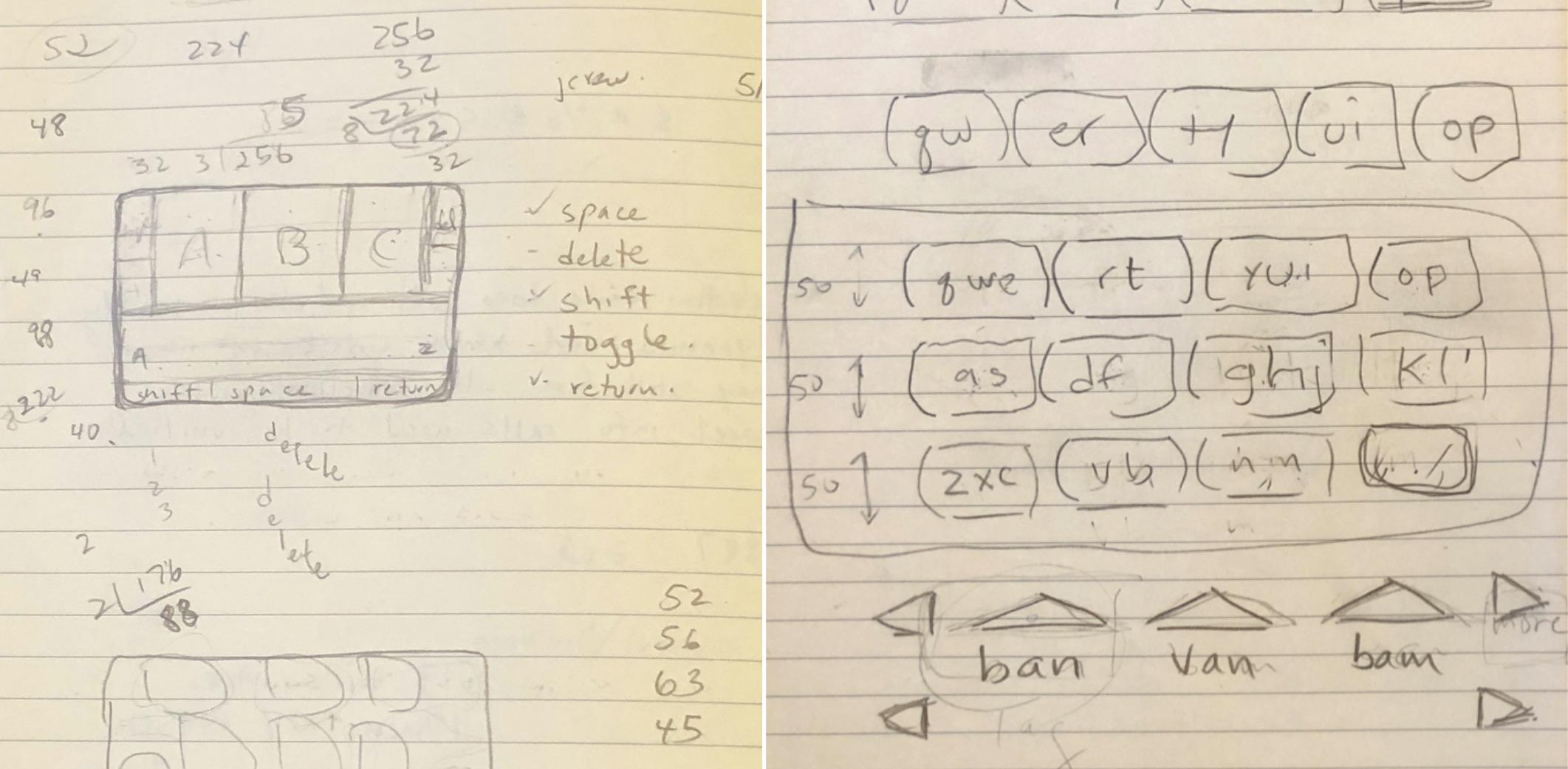iPhone Klavye Tasarımı