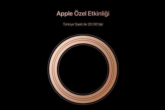 Apple Özel Etkinliği Canlı İzleme