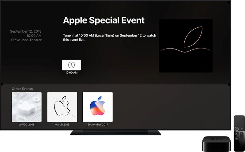 Apple Etkinliği Canlı İzleme Apple TV