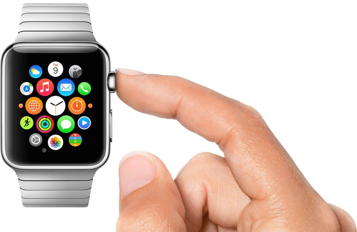 Apple Watch Series 4 digital crown