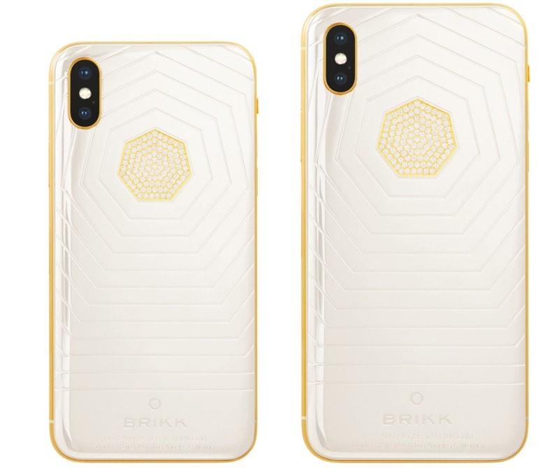 Brikk Seramik ve Altın Kaplama iPhone Xs ve iPhone Xs Max