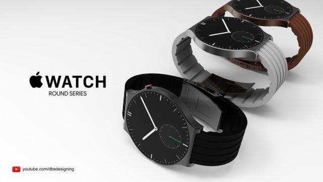 Yuvarlak Ekranlı Apple Watch