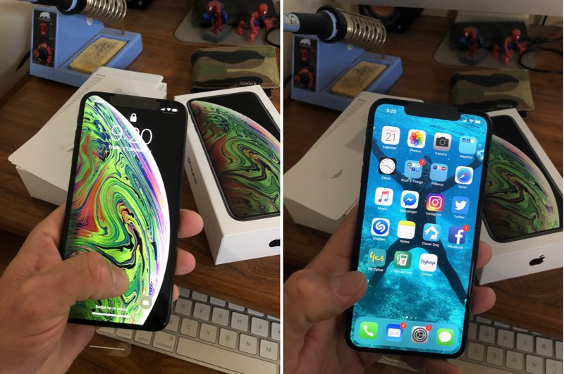 iPhone XS Max Ekran