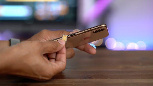 iPhone XS eSIM Özelliği