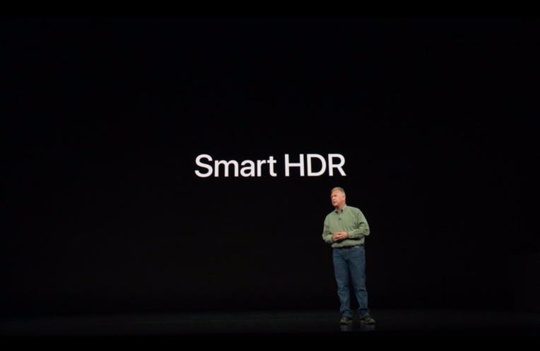 iPhone Xs Kamera Smart HDR