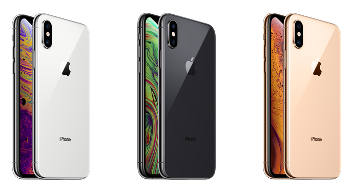 iPhone Xs Renk ve iphone Xs Max Renk