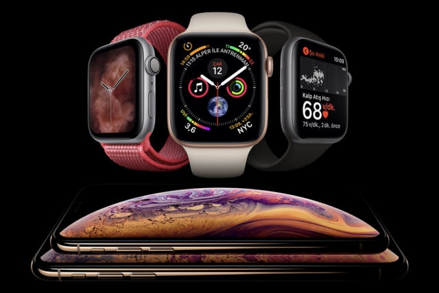 iPhone Xs ve Apple Watch Series 4 Ön Sipariş
