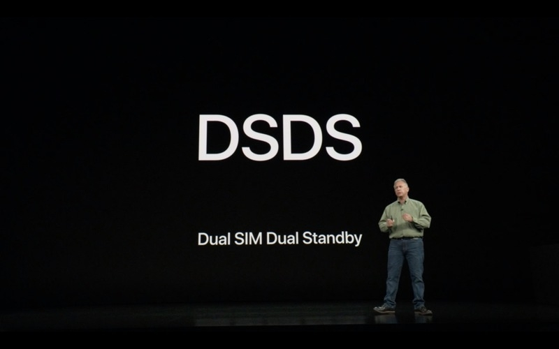 iPhone Xs ve iPhone Xs Max DSDS