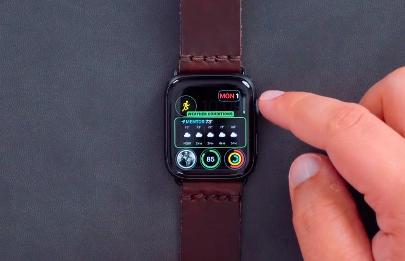 Apple Watch Series 4 İnfografikModüler