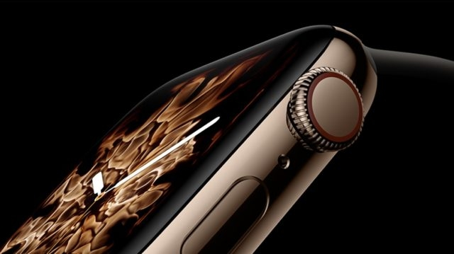 Apple Watch Series 4 Kış Saati