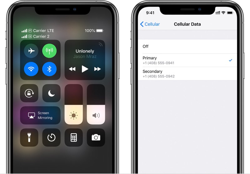 iOS 12.1 eSIM