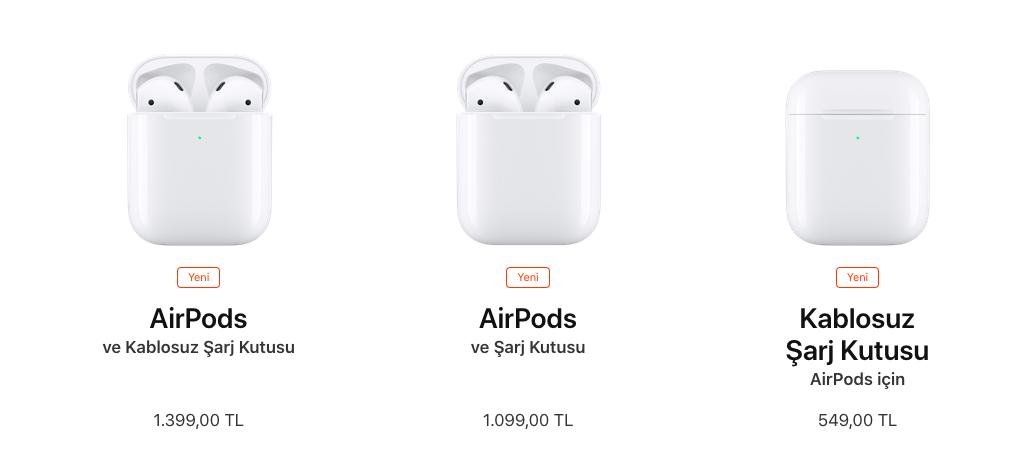 AirPods 2 Fiyatı