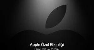 Apple 2019 Mart Etkinliği