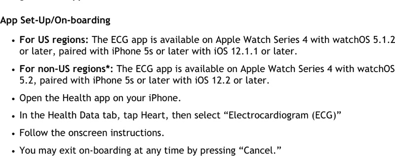Apple Watch EKG Çekme Özelliği