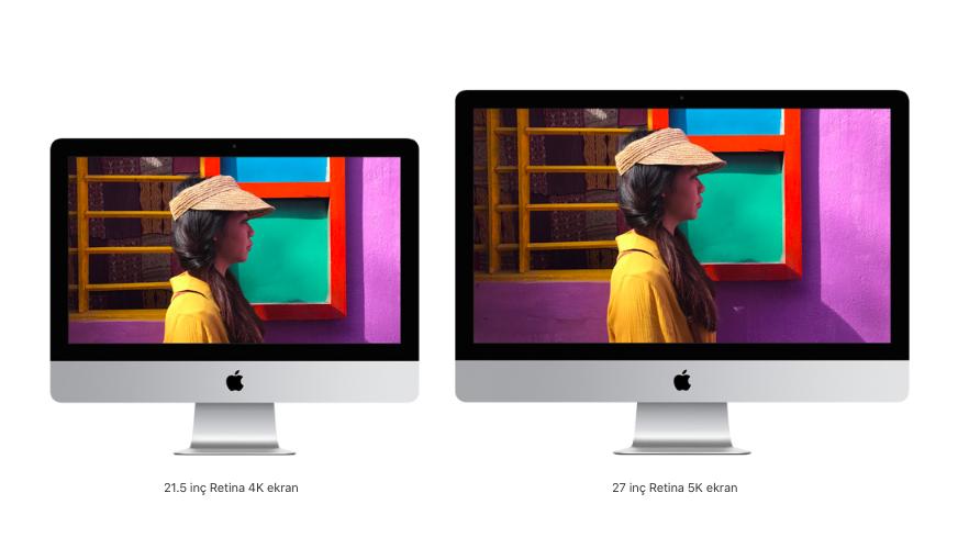 Yeni 4K ve 5K iMac Modelleri