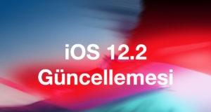 iOS 12.2 Güncellemesi