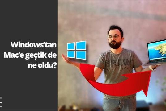 Windows'tan macOS'a geçiş deneyimi! -SihirliElma.Com