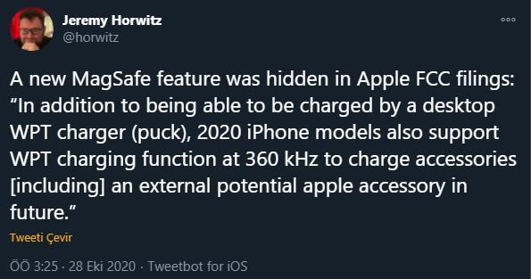 iphone 12 için ters kablosuz şarj