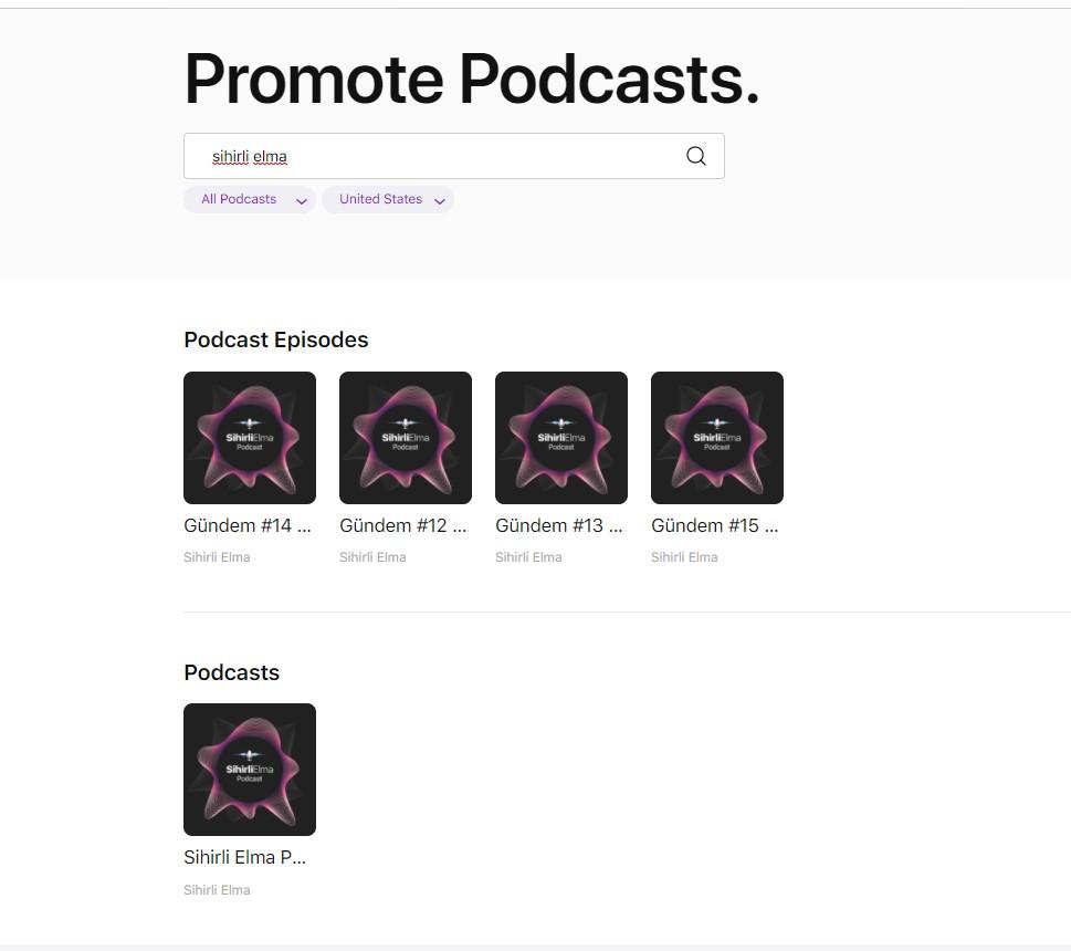 Apple Podcasts için web oynatıcı desteği geldi