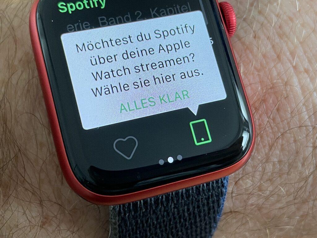 Spotify Streaming özelliği Apple Watch modelleri için aktif oldu
